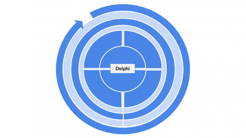The categorization for the Delphi method